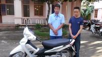 Nhóm thanh niên trộm và tiêu thụ xe máy bị sa lưới
