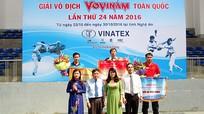 Nghệ An xếp thứ 8 tại Giải vô địch Vovinam toàn quốc