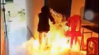 Nữ sinh đốt trường vì lời hứa trên Facebook: Thách thức ảo, hậu quả thật!