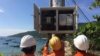 Vận hành thành công đường điện 110 kV vượt biển dài nhất Việt Nam