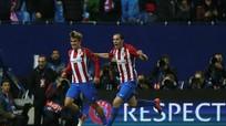 Atletico giành vé đi tiếp sau bàn thắng gây tranh cãi