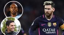 Trợ lý HLV và tiền vệ Man City bị nghi xúc phạm Messi