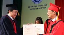 Đại học Vinh: Trao bằng tiến sỹ, thạc sỹ năm 2016
