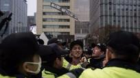Thắt chặt an ninh trước cuộc biểu tình đòi Tổng thống Park Geun-hye từ chức