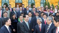 Chủ tịch nước gặp gỡ các tân Giáo sư, Phó Giáo sư