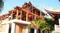 Chiêm ngưỡng ngôi chùa bằng gỗ lớn nhất Bắc miền Trung