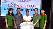 Bàn giao nhà 'Mái ấm tình thương' cho phụ nữ nghèo Yên Thành
