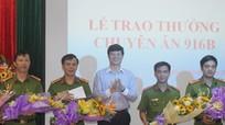 Nghệ An thưởng nóng chuyên án bắt vụ đánh bạc lớn nhất TP Vinh