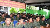 Tập huấn công tác quản lý, bảo vệ biên giới cho cán bộ biên phòng tỉnh Xiêng Khoảng