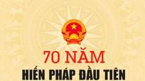 [Infographic] 70 năm Hiến pháp đầu tiên của nước Việt Nam