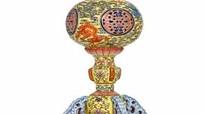 Cổ vật quý hiếm của Hoàng đế nhà Thanh bị biến thành đèn bàn