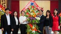 Các cơ quan đơn vị chúc mừng Báo Nghệ An nhân kỷ niệm 55 năm ngày thành lập