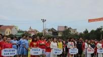 120 vận động viên tham dự giải bóng đá các cơ sở đào tạo lái xe Nghệ An