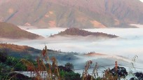 Huyền ảo mây trời vùng biên viễn xứ Nghệ