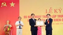 Phó Thủ tướng Vương Đình Huệ dự lễ kỷ niệm 55 năm thành lập Trường Nguyễn Duy Trinh