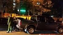 TP.Vinh: Va chạm ô tô trong giờ cao điểm, giao thông tắc nghẽn
