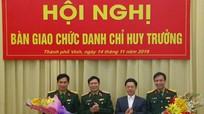 Bộ CHQS tỉnh Nghệ An có Chỉ huy trưởng mới
