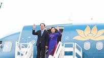Chủ tịch nước và phu nhân lên đường thăm chính thức Cuba