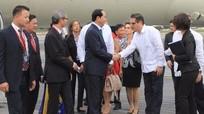 Chủ tịch nước đến thủ đô La Habana bắt đầu chuyến thăm chính thức Cuba