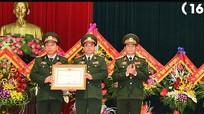 Cục Hậu cần Quân khu 4 đón nhận Huân chương Bảo vệ Tổ quốc hạng Nhì