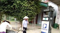 Tân Kỳ: Đình chỉ 9 cửa hàng xăng dầu không đủ điều kiện kinh doanh