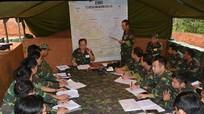 Lữ đoàn Thông tin 80 diễn tập bảo đảm thông tin liên lạc trong chiến đấu