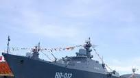 Nghiệm thu đài chỉ huy tàu Gepard Nga đóng cho Hải quân Việt Nam