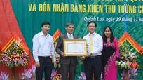 Trưởng Ban Tuyên giáo Tỉnh ủy chúc mừng trường THPT Quỳnh Lưu 1