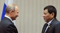 Tổng thống Philippines ngưỡng mộ phẩm chất lãnh đạo của ông Putin