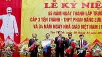 Trường THPT Phan Đăng Lưu kỷ niệm 55 năm thành lập