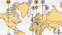 Phát hành bản đồ kho báu thế giới