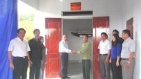 Hội CCB tỉnh trao nhà nghĩa tình đồng đội cho hội viên khó khăn
