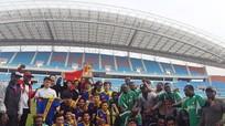 Đội bóng xứ Nghệ đạt giải nhì bóng đá Mini Wordcup tại Hàn Quốc