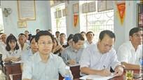 Phó Bí thư Thường trực Tỉnh ủy Nguyễn Xuân Sơn tiếp xúc cử tri thị xã Cửa Lò