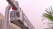 Trung Quốc khánh thành tàu điện treo lạ mắt
