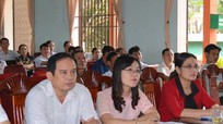 Phó Chủ tịch HĐND tỉnh Cao Thị Hiền tiếp xúc cử tri huyện Diễn Châu