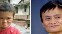 Cậu bé nghèo 8 tuổi gây sốt nhờ giống tỷ phú Jack Ma