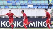 HLV Nguyễn Hữu Thắng: 'Tinh thần giúp các cầu thủ Việt Nam vượt qua khó khăn về thể lực'