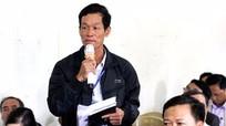 Thanh Chương: Cử tri kiến nghị cần đẩy nhanh dự án đê Lương-Yên-Khai