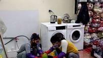 Dịch vụ giặt là đắt khách đầu mùa lạnh