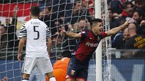 Giovanni Simeone khiến Juventus chịu thất bại nặng nề