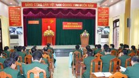 Đảng ủy BĐBP tập huấn công tác xây dựng Đảng năm 2016