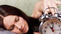 Ngủ không đủ giấc tăng nguy cơ mắc bệnh tiểu đường