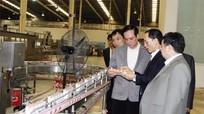 Đoàn công tác Ủy ban MTTQ Việt Nam thăm, khảo sát Tập đoàn sữa TH