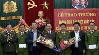 Nghệ An: Trao thưởng chuyên án phá đường dây ma túy 'khủng'