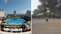 IS đốt nhà máy hóa chất, nguy cơ mưa axít khắp Trung Đông