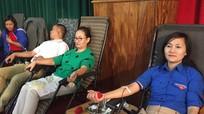 Quế Phong thu 198 đơn vị máu trong ngày hội 'Hiến máu tình nguyện'