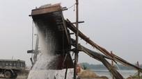 Công ty Thái Cực tiếp tục khai thác cát, sạn trái phép