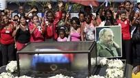 Chủ tịch Cuba cam kết gìn giữ di sản của Fidel Castro