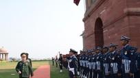 Đại tướng Ngô Xuân Lịch thăm hữu nghị chính thức Ấn Độ